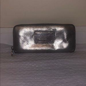 Silver Marc by Marc Jacobs wallet
